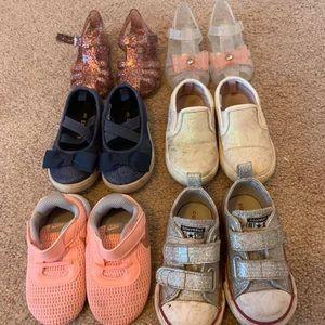 Baby girl size 5 shoe bundle